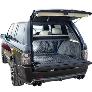 (216) Range Rover Cargo Liner Trunk Mat - Quilted & Tailored -2002 to 2012