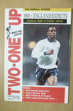 THE ARSENAL FANZINE- 1993 England Expects GOALS & A COOL HEAD