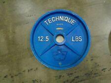VERY RARE Vintage Hampton Technique Series Aluminum 12.5LB Weight Plate Set