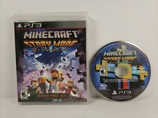 Minecraft: Story Mode - The Complete Adventure (Sony PlayStation 3, 2015) Tested