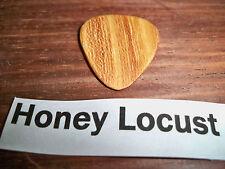 "Wood guitar pick ""Honey Locust ""  by RobinsonWood Picks"