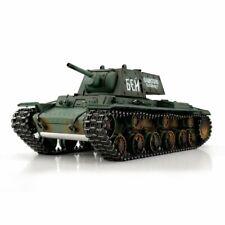 Torro 1/16 Russian WW2 KV-1 RC Tanks RTR 2.4GHz Metal Edition - Smoke & Sound