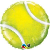 """Qualatex Tennis Ball Shaped 18"""" Helium Foil Balloon"""