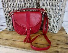 NEW INC International Concepts Ella Saddle Bag Crossbody $59 Wine NWOT