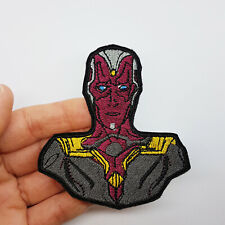 Vision - Iron-on embroidered patch inspired from Avengers Heroes