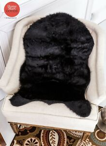 Use Everywhere Super Soft Hand Made Faux Sheepskin Rug carpet (2' x 3' Feet)