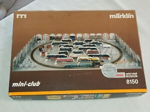RARE 1992 Marklin Mini-Club Museum 8150 Train set - Nice! Never used.