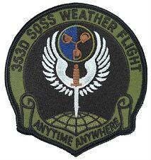 """SOS SPEC-OPS  4/""""  USAF SPECIAL OP/'S PATCH MINT 1 SOSS // OSM COMMANDO MEDICS"""