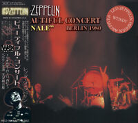 "LED ZEPPELIN /BEAUTIFUL CONCERT ""FINALE"" BERLIN 2CD 1980 audience and soundboard"