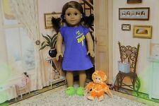 "American Girl Lanie ""Nightgown and Orangutan""-COMPLETE-RETIRED-RARE-EUC-NO DOLL"