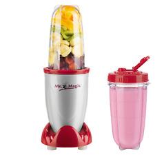 GOURMETmaxx Mr Magic Mixer Smoothie Maker Küchenmaschine 4teilig rot Nutrition