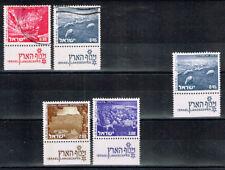 *NL*1101.Israël 1971-72.Mi.529-530(1 Ph.re)gest.,530(1 Ph.re)pfr.,536-537(2 Ph)