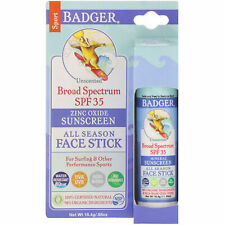 Badger Balms Sports Sunscreen Face stick spf 35 (0.65 oz.)
