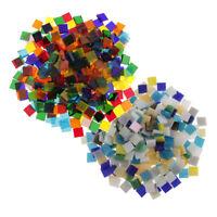 200-203 Matte Turquoise Vitreous Glass Mosaic 10mm Tiles A14