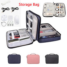 Travel Cable Organizer Accessories Gadget Bag Portable Watch Strap Case Storage