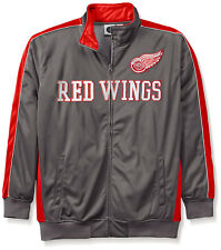 Genuine NHL Apparel Detroit Red Wings Men's Reflective Track Jacket 3X