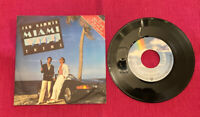 Jan Hammer Miami Vice Theme 7""