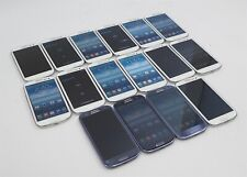 Lot of 16 Samsung Galaxy S Iii Sgh-I747 16Gb (At&T) Blue White Smartphones