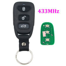 Replacement Keyless Entry Remote Key Fob 3 Button 433Mhz for Hyundai Kia Carens