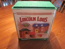 Lincoln Logs Wood Shady Pine Homestead Set Toys Kids Building Set extras