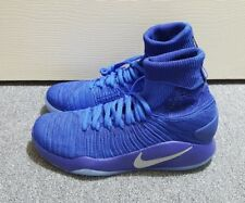 Nike Hyperdunk 2016 Elite Flyknit Game Royal Blue Shoes Sz 8.5 (843390 404) New