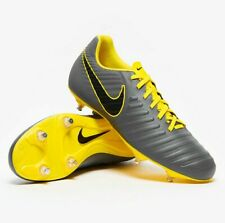New Nike Tiempo Legend 7 VII Club SG Grey Metal Studs Football Rugby Boots UK 13