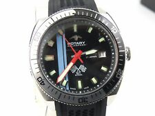 Rotary Mens GT Monza Swiss Automatic Sapphire Aquaspeed Watch - 100m