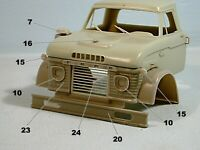 Ford N 950 1965 1/25 scale resin truck cab kit