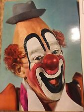 Vintage LOU JACOBS Postcard Ringling Bros Circus Clown Excellent Condition