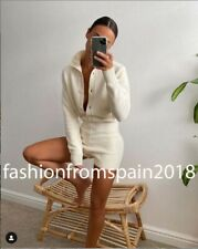 ZARA NEW WOMAN LIMITED EDITION KNIT PLAYSUIT ECRU S,M,L 6873/101