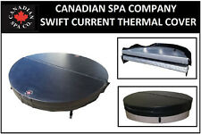 Canadian Spa - Swift Current Hot Tub Hard Top Thermal Insulating Cover - Black