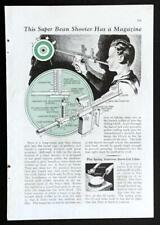 Bean/Pea Shooter w/Magazine 1934 HowTo build PLANS airsoft pellets Target Gun
