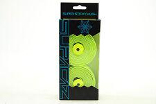 Supacaz Super Sticky Kush Road Bike Handlebar Tape, Neon Yellow