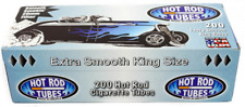 Hot Rod Extra Smooth King Size Blue Light - 10 Boxes - 200 Tubes Box Cigarette