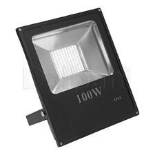 100W SMD Outdoor LED Flood Light 6000K Daylight IP65 Black Waterproof