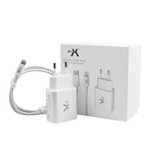 POWER X S-TR-151PR4 CARICABATTERIE 20W + CAVO LIGHTNING X IPHONE 12 PRO 12 11 XS