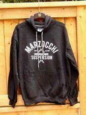 Genuine Marzocchi Heritage Hoodie, Sweatshirt, Black, Large, Brand New