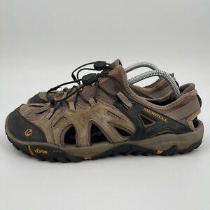 Merrell Mens All Out Blaze Sieve Water Sandals Brown Brindle/Butterscotch Sz 10