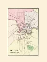 Dover New Hampshire - Hitchcock 1877 - 23.00 x 30.11