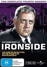 Ironside : Season 4 (DVD, 2010, 7-Disc Set)