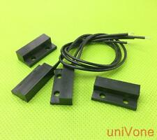Normally CLOSE NC door window reed switch Magnetic Contact BLACK.5pairs