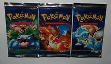 One Pokemon Basic 1st. Edition Spanish Booster Pack From Box-Sealed