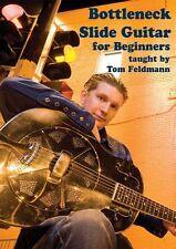 Tom Feldmann Bottleneck Slide Guitar For Beginners Learn Play Music Lesson DVD