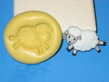 Sheep Lamb Silicone Push Mold A22 For Cake Chocolate Resin Clay Fondant Soap