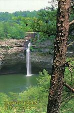 Desoto Falls, State Park, Fort Payne, near Mentone, Alabama Waterfall - Postcard