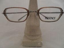 ESSENCE EYEGLASSES FRAME MODEL ES206 257 PLASTIC LIGHT BROWN GREEN SQUARE