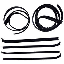 New Set of 8 Window Sweep Run Channel Weatherstrip Seal Kit for Ford F-250 Truck