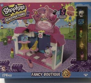 Shopkins Kinstructions - Fancy Boutique Building Kit 174 Pcs New