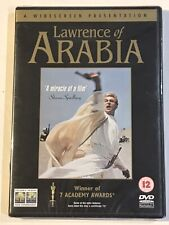 LAWRENCE OF ARABIA DVD NEW SEALED 1962 MOVIE FILM PETER O'TOOLE