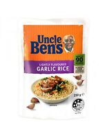 Uncle Bens Roasted Garlic Express Rice 250gm x 6